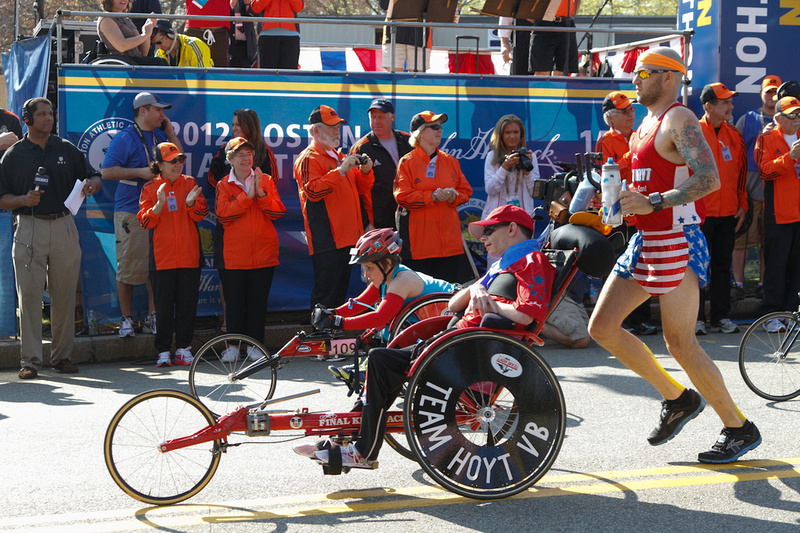 team Hoyt Boston Marathon