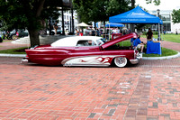 Cruise Night at Court Square Springfield Ma 2017